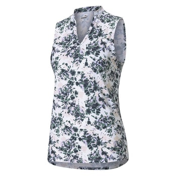 Puma Cloudspun Floral Tie Dye SL Polo