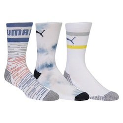 Puma Fusion Crew Sock 3 Pair Pack