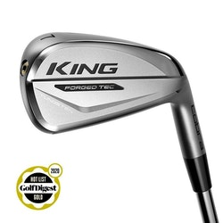 Cobra Golf KING Forged TEC Iron Chrome, Storlekar: 5–PW