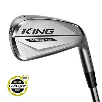 Cobra Golf KING Forged TEC Iron Chrome, Storlekar: 5–PW