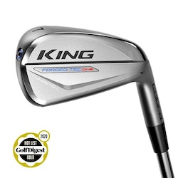 Cobra KING Forged TEC ONE Length Iron Chrome, Storlekar: 5–PW