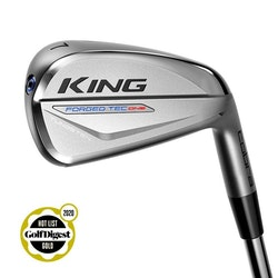Cobra Golf KING Forged TEC ONE Length Iron Chrome, Storlekar: 5–PW