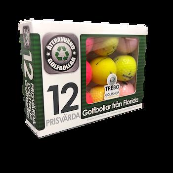 Floridabollar AAA-Grade Blandade Färger, 12-pack