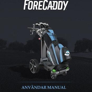 ForeCaddy Användar Manual på Svenska