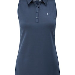 UA Zinger Sleeveless Polo Navy
