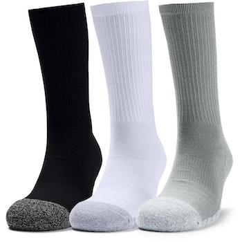 Under Armour Heatgear Crew Socks (3-pack)