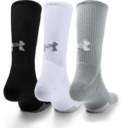 Under Armour Heatgear Crew Socks (3-pack)