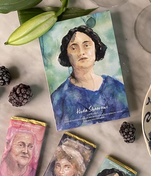 Inspogram – Mörk choklad i samarbete med Historiskan