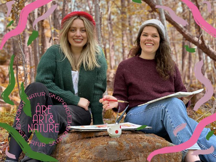 Åre Art & Nature - Weekend med konst och skapande i fjällen - Fredag & Lördag 24-25 Sep