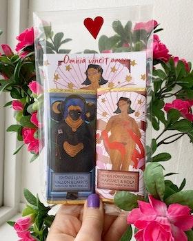 LOVEOGRAM – Mjölkchoklad, pepp & kärleksgudar