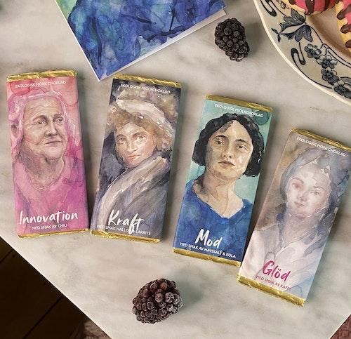 Stort Inspogram –  Kvinnohistoria & pepp i samarbete med Historiskan