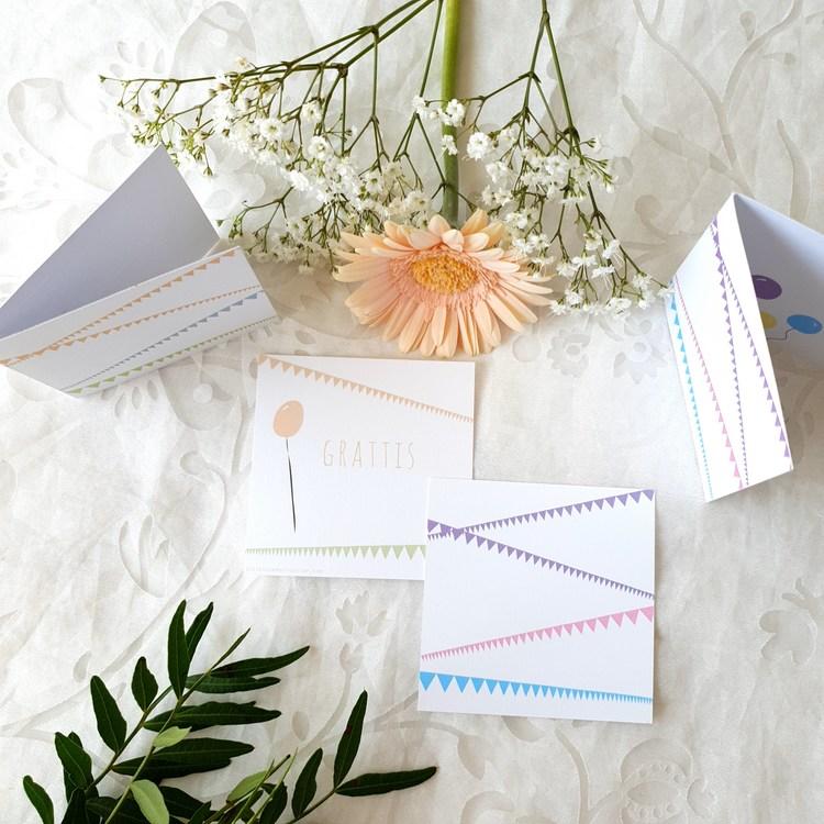 Gratulationskort paket