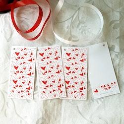 Presenttagg - Röda Hjärtan