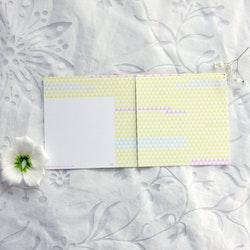 Inbjudningskort - Lapptäcke 12cm