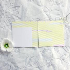 Högtidskort - Lapptäcke 12cm