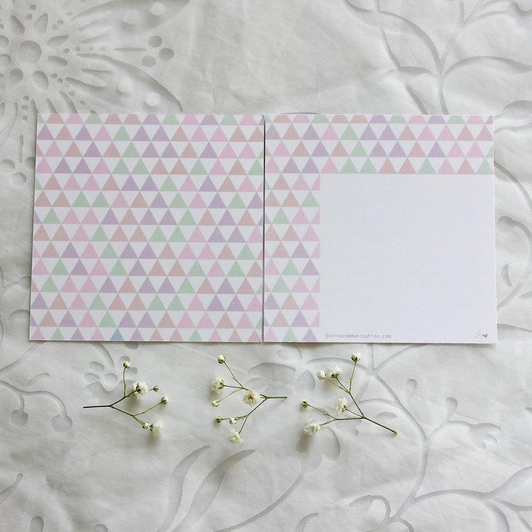 Gratulationskort - Fjäril 12cm