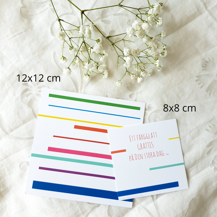 Grattiskort - Original 8cm