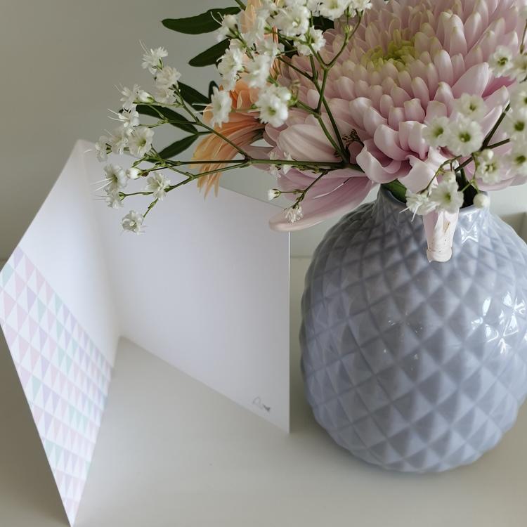 Bröllopsinbjudan - Fjäril 12cm