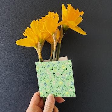 Gratulationskort - Solen 8cm