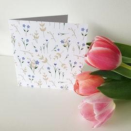 Gratulationskort - Tulpanäng 12cm