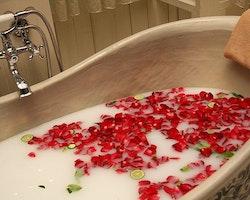 Set of 9 Soap Flowers - Röda rosor