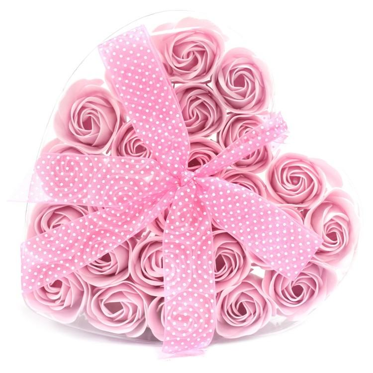 24st Rosa badrosor