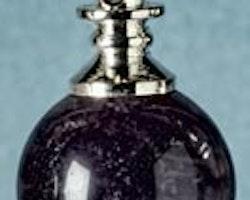 Ametist pendel med metall