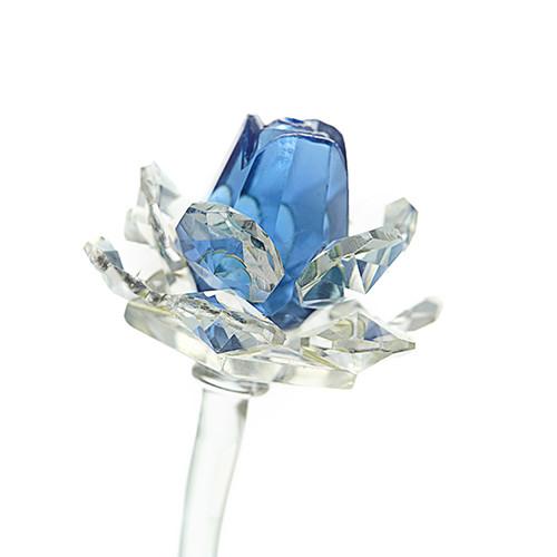 Kristall ros - Blå