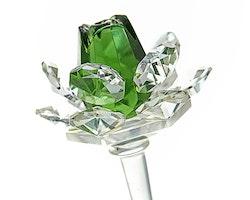 Kristall ros - Grön