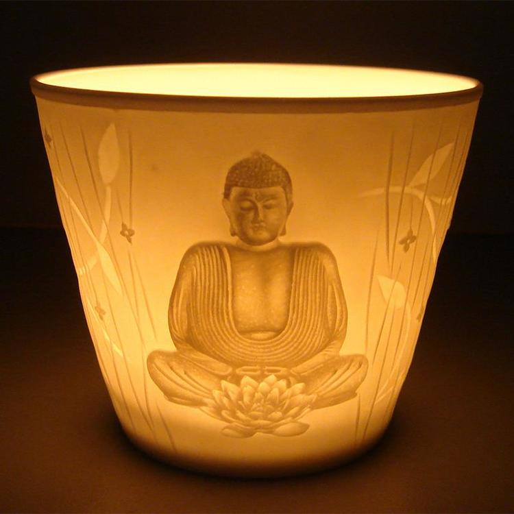Buddha ljushållare
