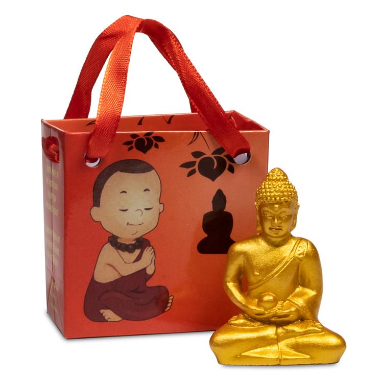 Buddha i en liten presentbox
