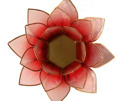 Lotusblomma ljushållare
