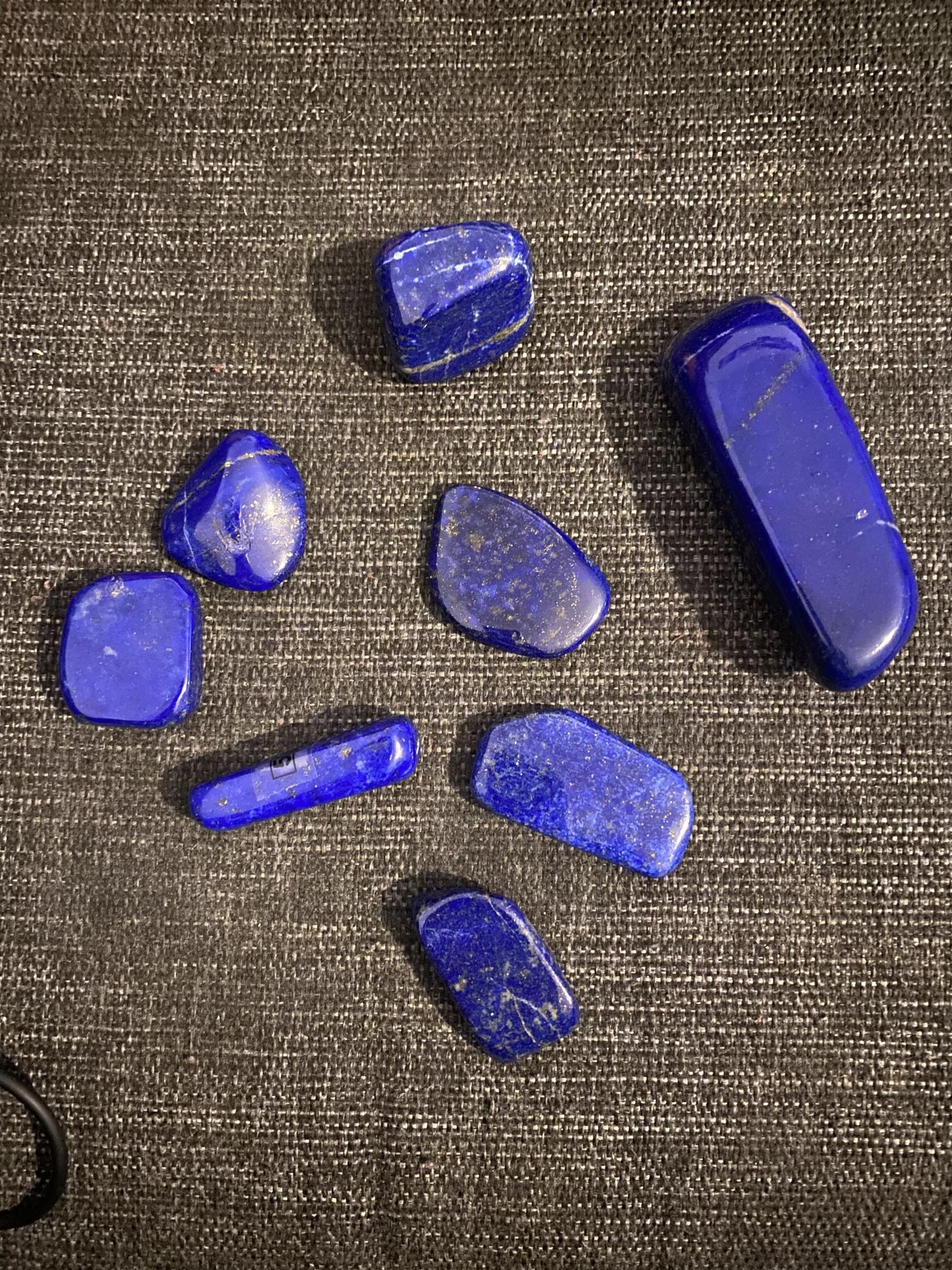 Lapis Lazuli AAA-kvalitet