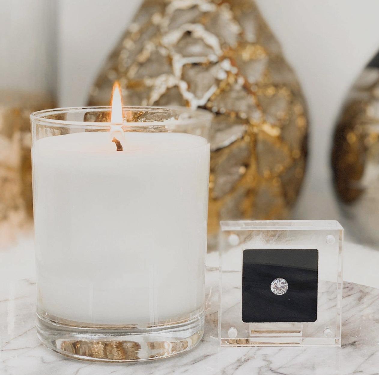 24K Magic Sparkle - Diamond Candle