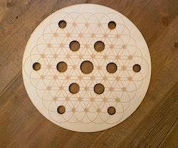 Sphere holder - Crystal Grid