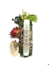 Ritual Salvia med selenit