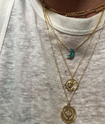 Opal Måne - Halsband
