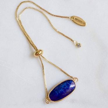 Lapis Lazuli - Justerbar Armband