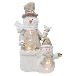 LED - Crystal Snowman
