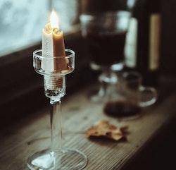 Ljushållare - Vintage Glass