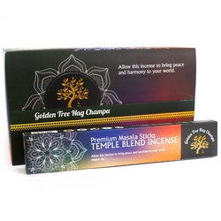 Golden Tree Nag Champa Temple Blend