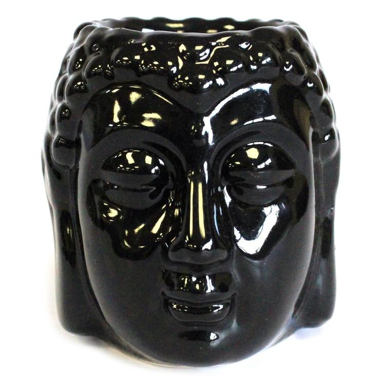 Buddhahuvud svart