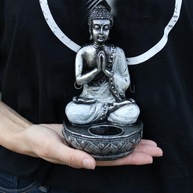 Buddha Ljusstake