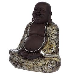 Sittande Happy Buddha
