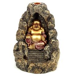 Rökelsebrännare Backflow Happy Buddha