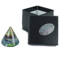 12-sidig Yin Yang Pyramid 50 mm