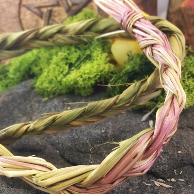 Sweetgrass-Fläta 35 cm