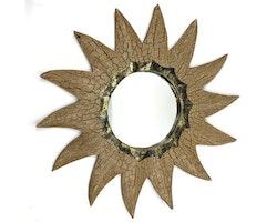 Spegel Antik Sol 40 cm