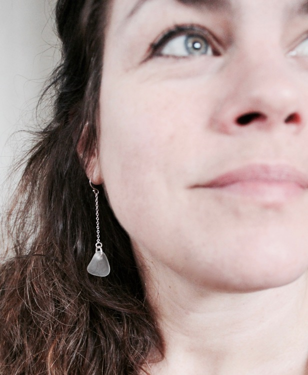 Ocean Ombre trippelörhängen