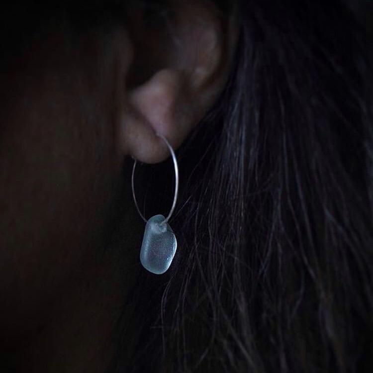 Small Loop So Blue örhängen